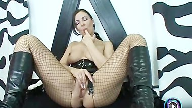 Busty Maria Belucci as your naughty masturbating police woman