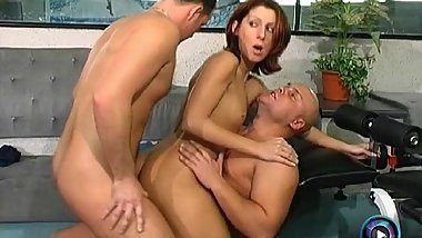 Brigi and Lilienn prefers group sex rather than working out