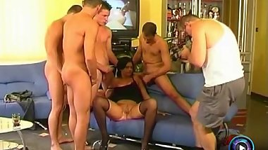 Dora H amazing fuck with four guys