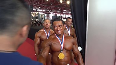 MUSCLEBULLS: Arnold Classic Amateur 2014, Upto 100kg, Top 3 guys