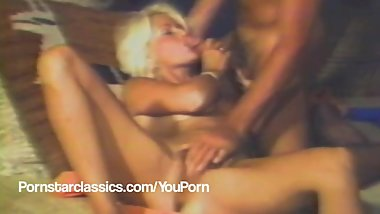 Classic 4 way porn star fuck party!
