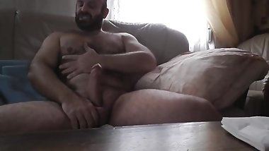 SOLO MAN HAIRY BEAR CUM