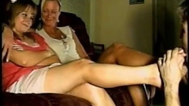Spanking Classic-Over mom's knee