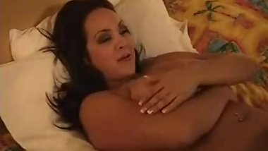 Audra Mitchell strips and talks about her boobs
