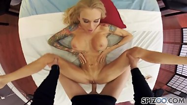 PornGoesPro - Sarah Jessie is punished by a big dick, big booty & big boobs