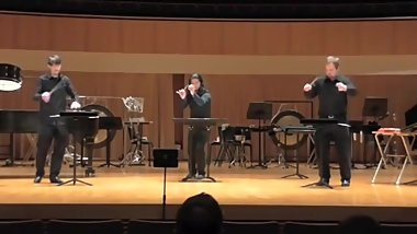Tlön by Mark Applebaum Sam Houston Percussion Group